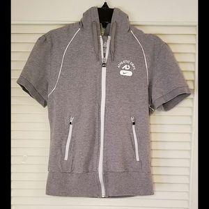 Nike Short-Sleeve Zip-Up Hoodie